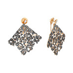 Stefan Hafner Aristocratica 18k Rose Gold Diamond Earrings