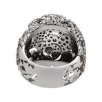 Stefan Hafner Aristocratica 18k White Gold Diamond Ring // Ring Size: 6.75