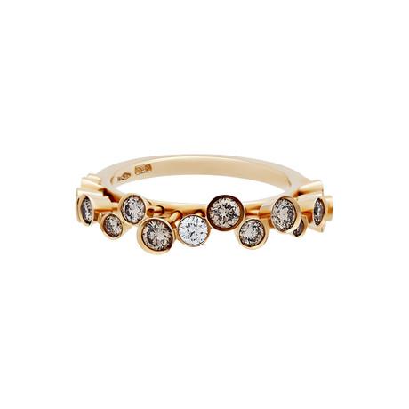 Stefan Hafner Gemini 18k White Gold Diamond Ring // Ring Size: 7