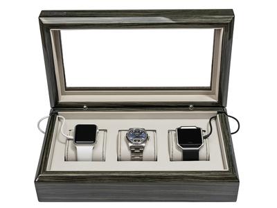 Photo of Oyobox Organization & Storage Solutions OYOBox Smart-Watch Box // Zebra Gray by Touch Of Modern