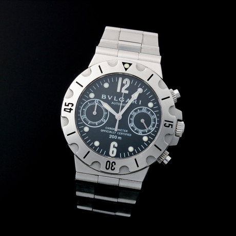 Bulgari Chronograph Automatic // SC38 // Pre-Owned