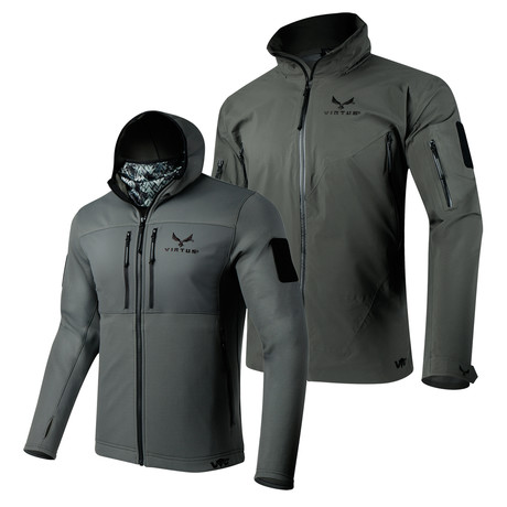 2-Layer Jacket Combo // Helios + Proteus // Gray (S)