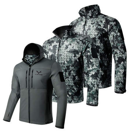 Tactical Jacket for Men Astraes Mid Layer Virtus