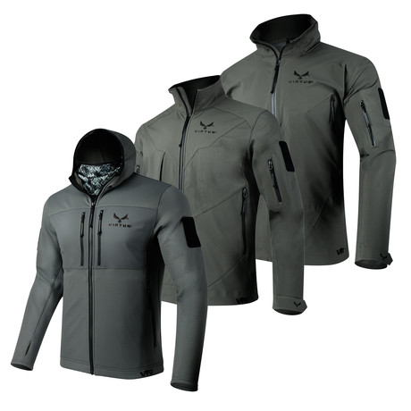 3-Layer Jacket System // Helios + Astraes + Proteus // Gray (S)