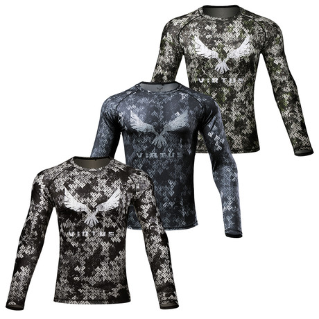 Long Sleeve Rocky Shirt // 3-Pack // TARIIS + EKHO + NYX (S)