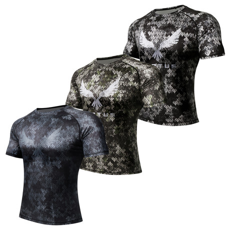 Short Sleeve Rocky X Shirt // 3-Pack // TARIIS + EKHO + NYX (S)