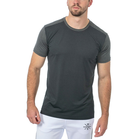 Riley Fitness Tech T // Black (XS)