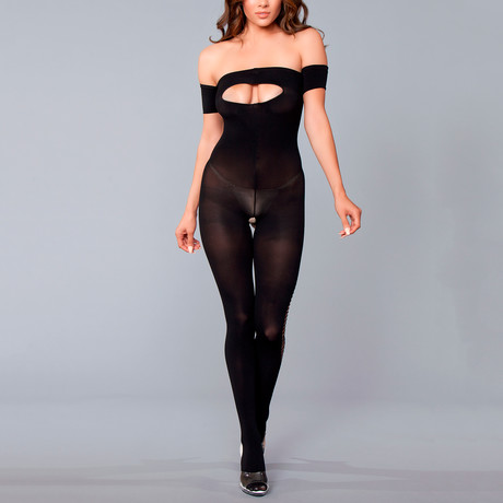 Lydia Bodystocking // Black // One Size