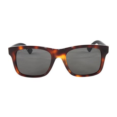 Men's GG0008S Sunglasses // Avana Black