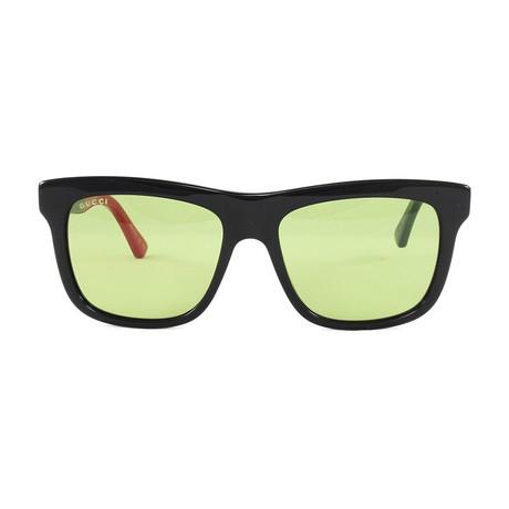 Unisex GG0158S Sunglasses // Black