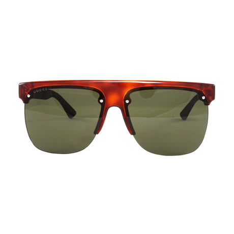 GG0171S Sunglasses // Avana + Brown