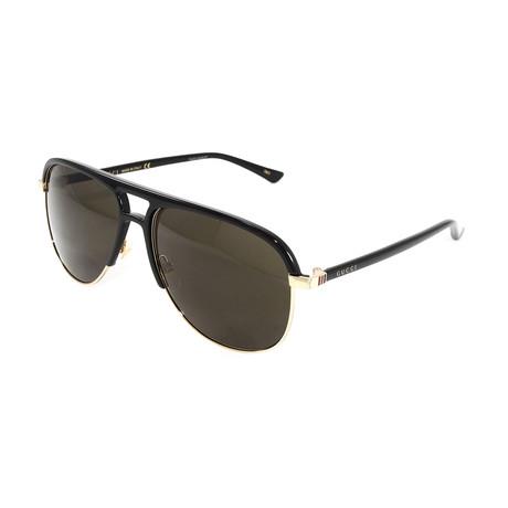 Men's GG0292S Sunglasses I // Black