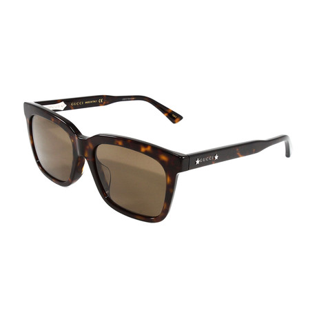 Men's GG0267SA Sunglasses // Havana