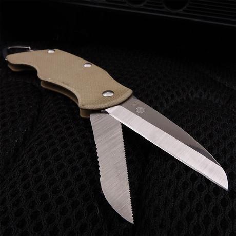 Scissor Knife // Silver