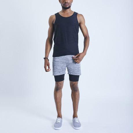 Eco II Dog Shorts // Gray (S)