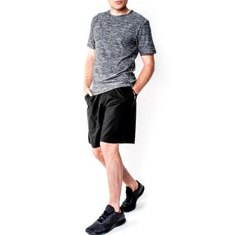 Warrior I Shorts // Black (S)