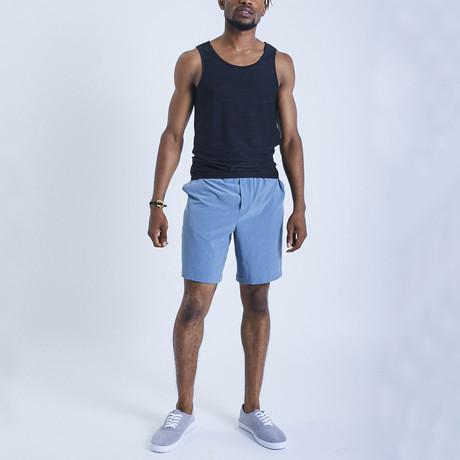 Eco Warrior II Shorts // Ocean Blue (S)
