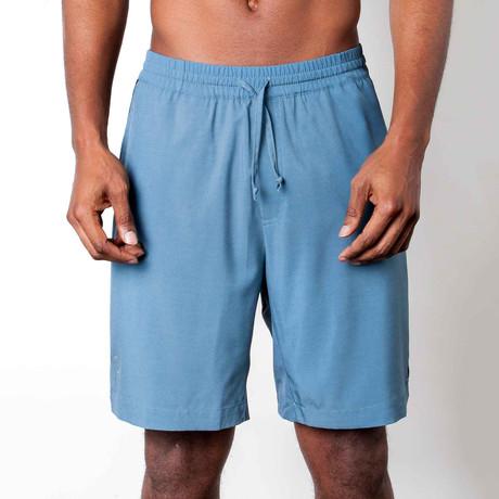 Warrior II Shorts // Ocean Blue (S)