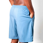 Warrior II Shorts // Ocean Blue (S)
