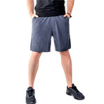 Warrior I Shorts // Slate (XL)