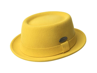 Kangol Heritage Inspired Hats Litefelt Pork Pie // Moutarde (L) by Touch Of Modern - Denver Outlet