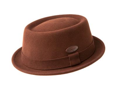 Kangol Heritage Inspired Hats Litefelt Pork Pie // Terracotta (L) by Touch Of Modern - Denver Outlet