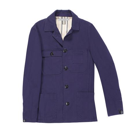 Cetto Coat // Purple (Euro: 54)