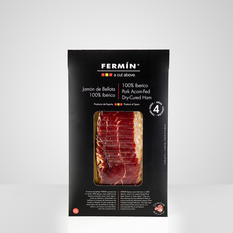 100% Ibérico Acorn-Fed Ham Free Range // 2 Oz Package // Set of 2