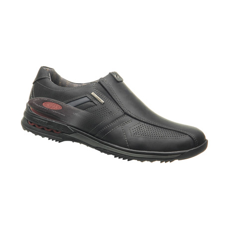 Casual Slip-On Sneakers // Black (US: 6.5)