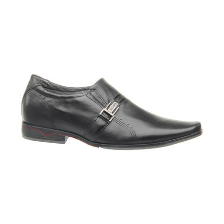 Anton Buckle Slip-On Dress Shoes // Black (US: 6.5)