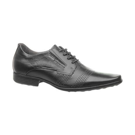 Cap-Toe Dress Shoes // Black (US: 6.5)