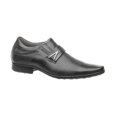 Buckle Slip-On Dress Shoes // Black (US: 6.5)