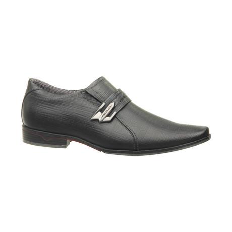 Dominic Buckle Slip-On Dress Shoes // Black (US: 6.5)