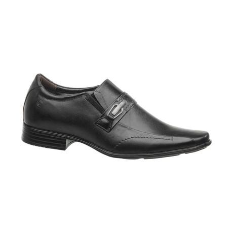 Dale Buckle Slip-On Dress Shoes // Black (US: 6.5)