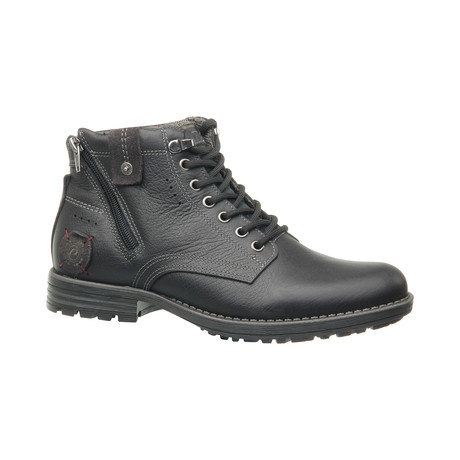 Nico Low Zipper Boot // Black (US: 6.5)