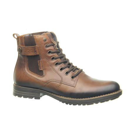 Kayl Low Zipper Boot // Cognac (US: 6.5)