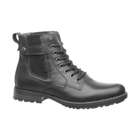Kayl Low Zipper Boot // Black (US: 6.5)