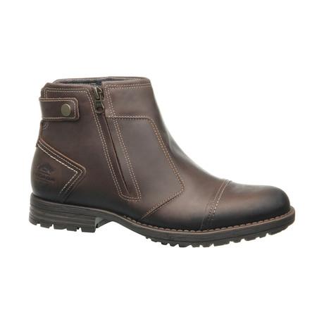 Damari Low Zipper Boot // Coffee (US: 6.5)