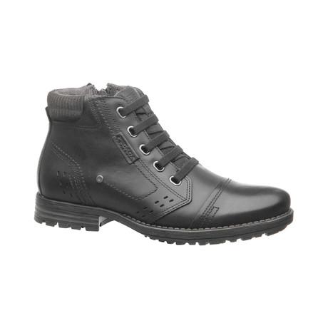 Adam Low Zipper Boot // Black (US: 6.5)