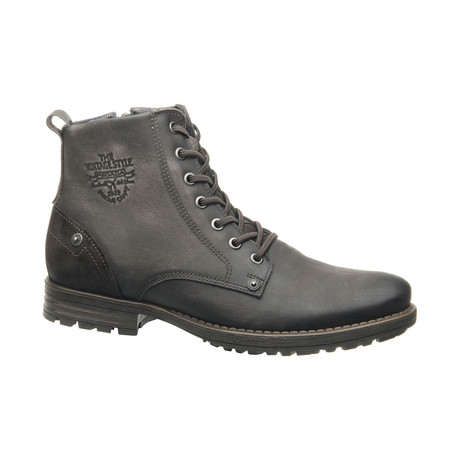 Low Lace-Up Boot // Coffee (US: 6.5)