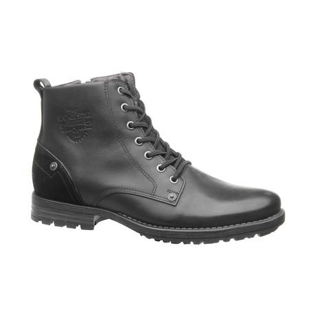 Isaiah High Zipper Boot // Black (US: 6.5)
