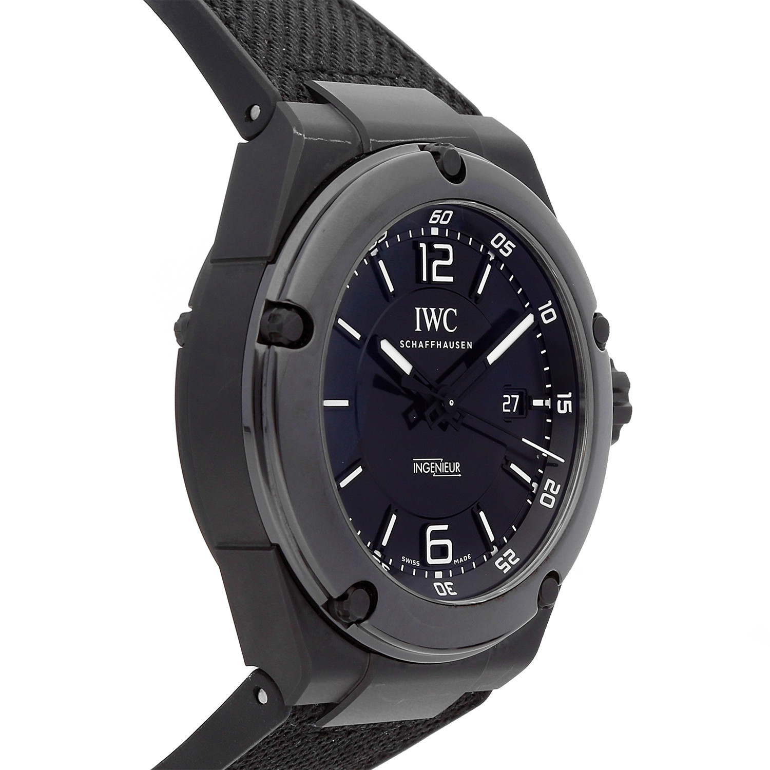 iwc ingenieur amg automatic iw3225 03 pre owned. Black Bedroom Furniture Sets. Home Design Ideas