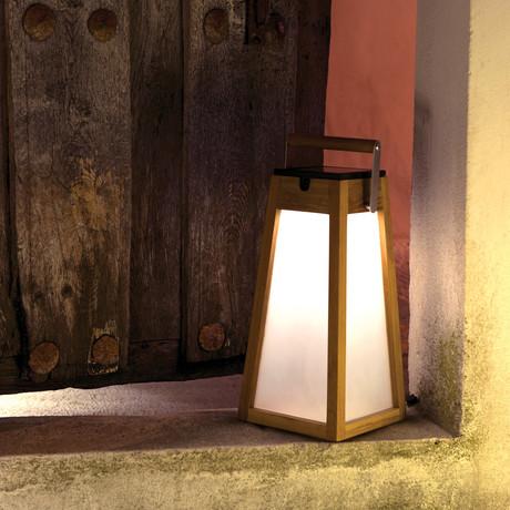 Roam Lantern // V4 (Teak)