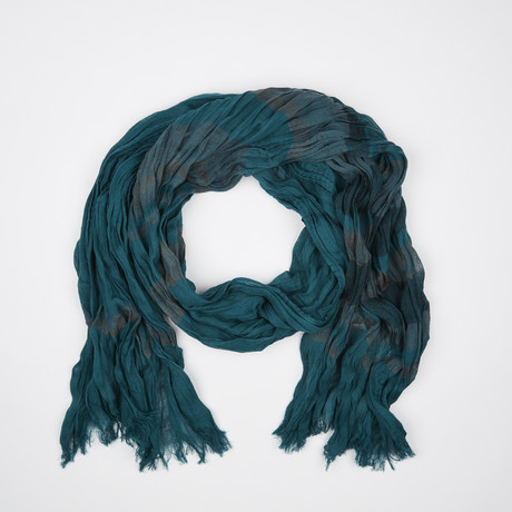Flamme Scarf // Teal