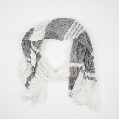 Flamme Scarf // White