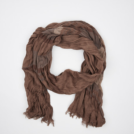 Flamme Scarf // Cocoa