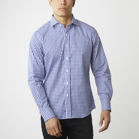 The Grind Button-Down Shirt // Gingham (XS)