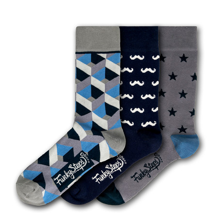 Christoper Socks // Set of 3