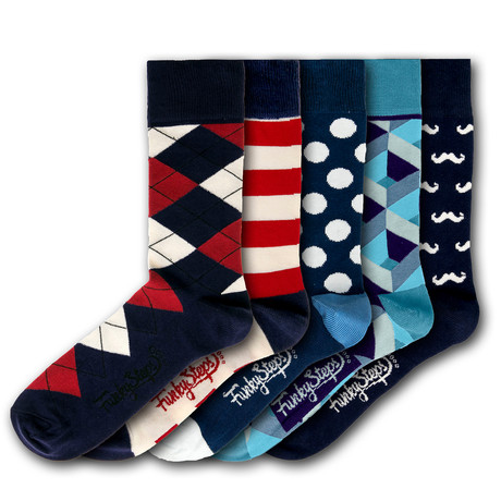 Felipe Socks // Set of 5