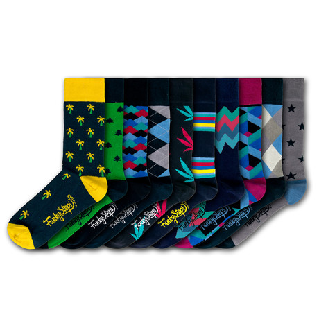 Milan Socks // Set of 10